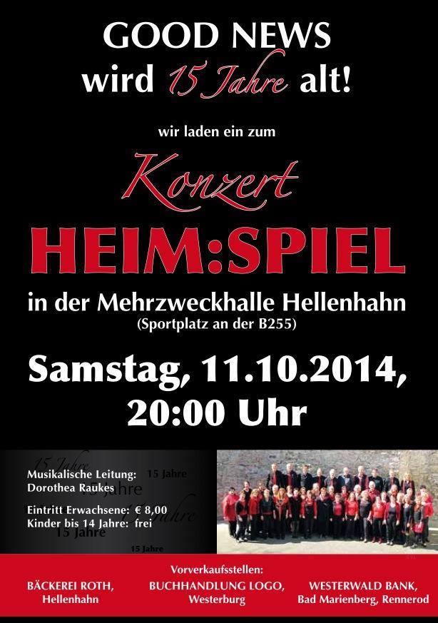 Konzert Heimspiel 2014