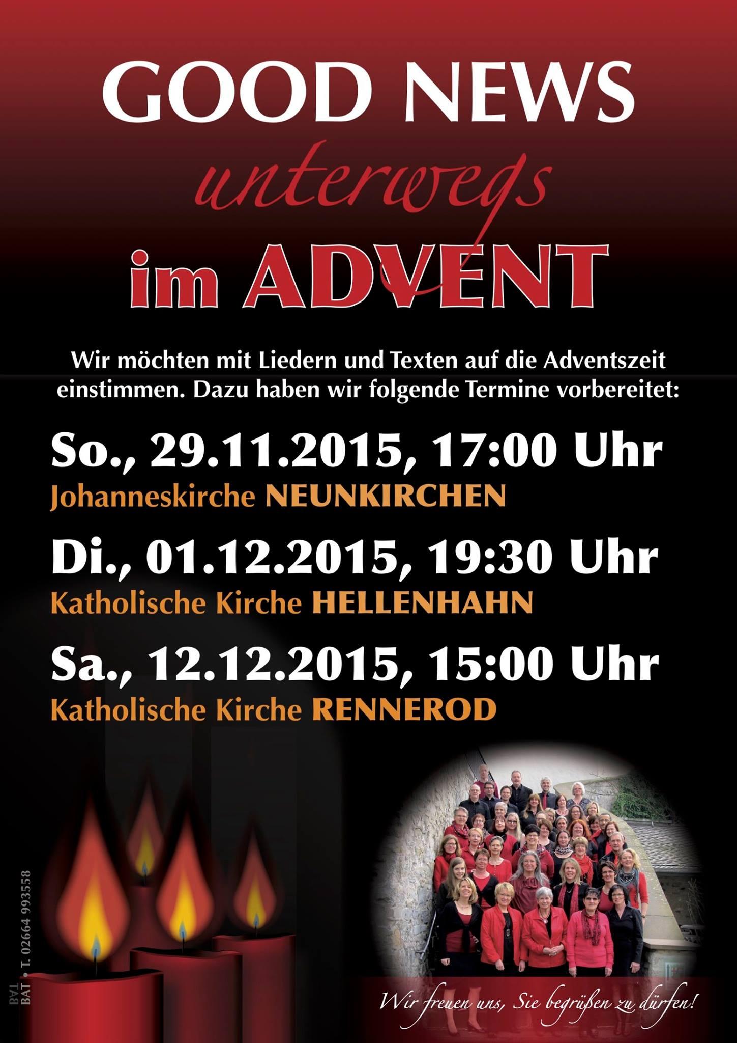 Weihnachtskonzerte 2015