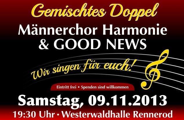 Konzert mit Männerchor 2013